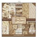 Stamperia - Double-Sided 12 x 12 Inch Paper Pack - Old Lace